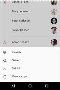 Bottom sheets - Components - Material design guidelines