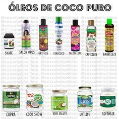 """Olá Maravilhosos😍 Hoje venho com mais um post sobre o nosso queridinho óleo de coco, Eu trouxe pra vocês """"alguns"""" óleos de coco pur"""