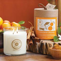 Duftwachsglas Brighter World™, Zimt & Orange