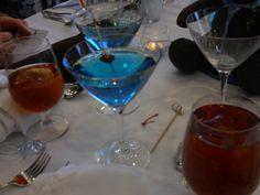 Blue signature drink