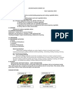 DETAILED LESSON PLAN IN COOKERY 9 | Menu | Sandwich Monte Cristo Sandwich, Types Of Sandwiches, Cold Sandwiches, Clubhouse Sandwich, Powerpoint Format, Cocktail Sticks, Slice Of Bread, Ham And Cheese, White Bread