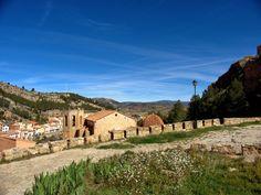 Alpuente 2015 04: vistas desde el mirador junto al Castillo de Alpuente