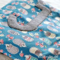 Baby-Decke aus Bio-Baumwolle nähen mit Applikation stoffbotin.de / Sewing Organic Baby Blanket / Organic Toddler Blanket / Bio-Stoffe / Organic Cotton Fabric / Nähen / Sewing @monalunaorganic - Hedgies