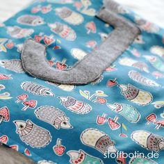 Baby-Decke aus Bio-Baumwolle nähen mit Applikation stoffbotin.de / Sewing Organic Baby Blanket / Organic Toddler Blanket / Bio-Stoffe / Organic Cotton Fabric / Nähen / Sewing @monalunaorganic - Hedgies