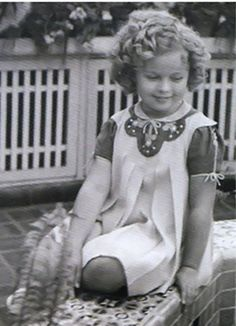 Shirley Temple, 1936.