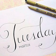 Happy Tuesday - Martedì #handletteredabcs @handletteredabcs #abcs_tuesday #tuesday #leuchtturm1917 #bulletjournal #bujo #handlettering #moderncalligraphy #lettering #letters #typography #calligraphy #calligraphyph #calligraphyart #type #typewriter #planner #planneraddict #micron #handtype #typespire #graphic #bulletjournaling #thedailytype #doodle #bulletjournaljunkies #journal #paper
