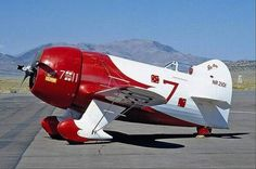 """The old """"GEE BEE"""" this design has killed more good pilots."""