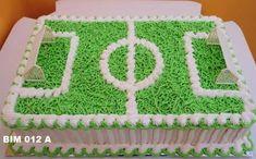 Resultado de imagen para bolo gramado de estádio Football Birthday Cake, Birthday Party Snacks, Soccer Ball Cake, Cake Models, Sport Cakes, Cake Decorating Techniques, Cakes For Boys, Buttercream Cake, Cake Tutorial