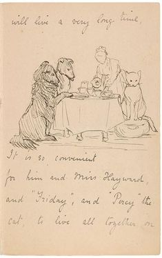 The Morgan Library - Beatrix Potter, letter to to Noel Moore 1898