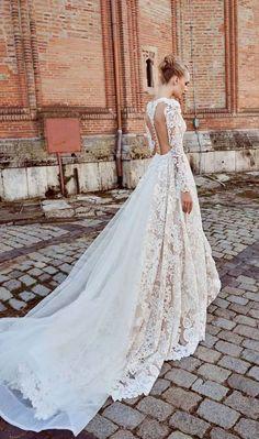 Long Sleeves Wedding Dress #wedding #weddingdress #weddinggown #bridalgown