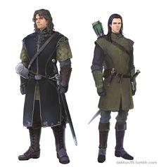 Боромир и Фарамир Boromir and Faramir