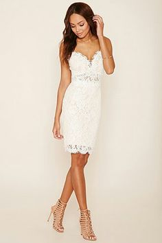 A crochet knit cami dress featuring floral embroidered overlay, scalloped eyelash lace hem, sweetheart neckline with a padded bust, and an exposed back zipper. Vegas Dresses, Homecoming Dresses, Snake Print Dress, Scalloped Dress, Little White Dresses, Ruched Dress, Spaghetti Strap Dresses, Dress For You, Pink Dress