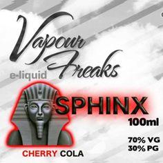 Vapour Freak - 100ml Sphynx E-Liquid
