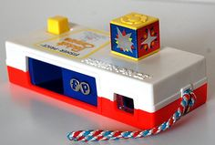 Fisher Price camera toy.