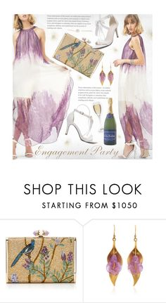 """""""Engagement Party"""" by beebeely-look ❤ liked on Polyvore featuring Judith Leiber, formal, Elegant, Trendy, sammydress and engagement"""