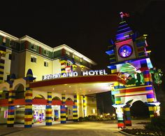 Lego-themed hotel opened in 2013 in California