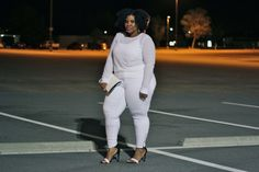 BREAKING ALL THE RULES: PLUS SIZE WOMEN CAN WEAR ALL WHITE