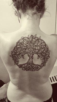 Celtic Tree of Life tattoo by Dan Kytola