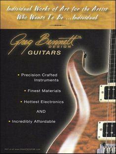 greg bennett design samick guitars 2005 ad 8 x 11 advertisement print # samick guild guitars