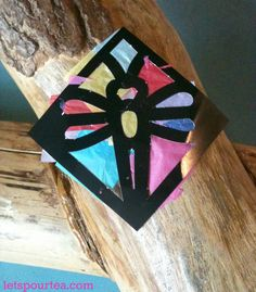 stain glass #craft for #kids