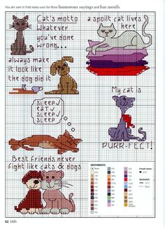 Gallery.ru / Фото #60 - Picture Your Pet in Cross Stitch - patrizia61