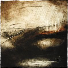 Printmaking artist Ross Loveday uses drypoint and carborundum print techniques to capture the abstract landscapes of Britain with an emphasis on abreaction and texture. Landscape Art, Landscape Paintings, Landscape Drawings, Composition Art, Plastic Art, Painting Inspiration, Illustration Art, Fine Art, Etchings