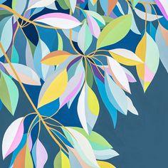 Under the Moreton Bay Fig There is something magical about standing under the Moreton Bay Fig... This is a limited edition archival reproduction print of my original gouache painting, printed on Hahnemuhle Bamboo Paper. Each print is numbered, titled and signed beneath the image and will