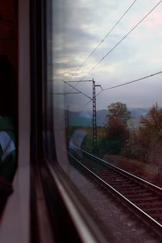 mantzavinou: I have always wanted to take a train trip! mantzavinou: I have always wanted to take a train trip! Sky Aesthetic, Aesthetic Photo, Aesthetic Pictures, Train Travel, Train Trip, Train Rides, Instagram Story Ideas, Aesthetic Wallpapers, Travel Photography