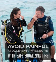 Check out these 10 tips for easy equalizing. #scuba #tothelimit