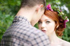 Boho Bridal Makeup. Tatum Reid Photography.