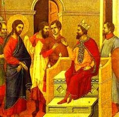 """September 22nd - Luke 9:7-9: Herod the tetrarch heard about all that was happening, and he was greatly perplexed because some were saying, """"John has been raised from the dead""""; others were saying, """"Elijah has appeared""""; still others, """"One of the ancient prophets has arisen."""" But Herod said, """"John I beheaded. Who then is this about whom I hear such things?"""" And he kept trying to see him."""