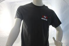 Un ejemplo de nuestro trabajo en cuanto a  bordado en Camisetas.