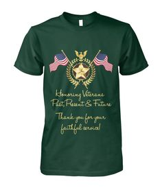 HONORING VETERANS - t-shirt