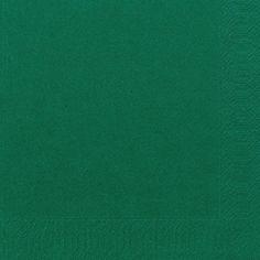 Duni Serviett 3L 40cm mørk grønn
