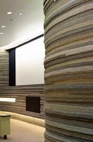 felt walls, screening room