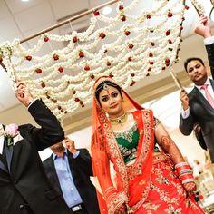 Tips For Planning The Perfect Wedding Day – Cool Bride Dress Bride Entry, Wedding Entrance, Wedding Stage Decorations, Garland Wedding, Wedding Mandap, Wedding Props, Wedding Ideas, Wedding Photoshoot, Wedding Bride