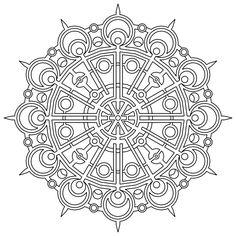 Geometric Color Pages