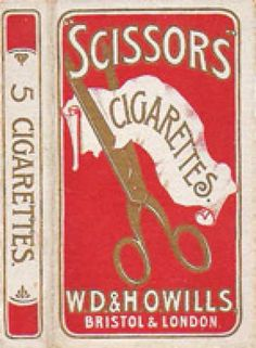 Scissors Cigarettes