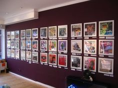 Local residents favourite record covers displayed in Art Vinyl's Play & Display Flip Frames
