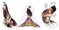J. Scott Campbell Disney Mermaid | tumblr_mfkqpcQQru1qdfv3oo1_1280.jpg