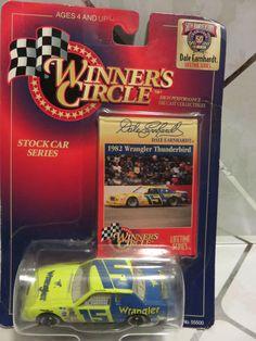1998 Winner's Circle~Dale Earnhardt #15 Wrangler, Stock Car Series 1:64 NEW #WinnersCirclebyKenner #1982WranglerFordThunderbird