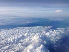 Nusantara (Indonesia) from the sky ⛅️✈️