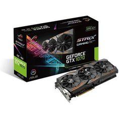 Asus NVIDIA GeForce GTX 1070 STRIX OC GAMING 8192Мб, GDDR5,1657MHz, STRIX-GTX1070-O8G-GAMING  — 34590 руб. —  Тип памяти графического адаптера GDDR5 , Разработчик видеопроцессора NVIDIA , Интерфейс PCI-E 16x 3.0