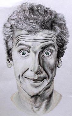 Disegno Ritratto Peter Capaldi Doctor Who