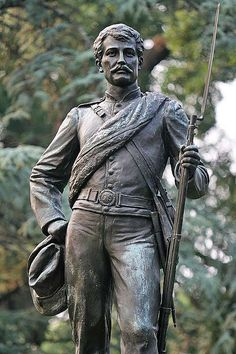 UVA statue in the Confederate cemetery where great grandfather Richard Richardson Sanders is buried. Confederate Statues, Confederate Monuments, Confederate States Of America, America Civil War, Civil War Quotes, Civil War Art, Southern Heritage, Southern Pride, Cemetery Monuments