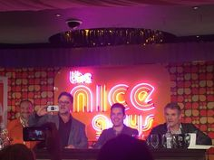 The Nice Guys, Press Conference, London, May 18, 2016