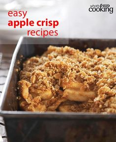 Find simple and easy recipes from Kraft Canada including family favourites such as chicken recipes, delicious appetizers and irresistible desserts. Apple Crisp Recipes, Fruit Recipes, Desert Recipes, Fall Recipes, My Recipes, Sweet Recipes, Baking Recipes, Favorite Recipes, Crab Apple Recipes