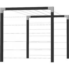 Plus CUBIC Tørrestativ i træ m/skinner dobbelt - sortgrundet - 17941-15 - DK's bedste pris på Plus Hegn Outdoor Decor, Room, Laundry, House, Outdoors, Decorating, Inspiration, Furniture, Home Decor