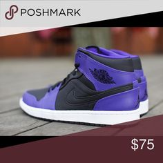 Air Jordan 1 mid bg Brand new ! Size 9 in women's Shoes Sneakers