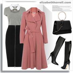 LIZ by elizabethhorrell on Polyvore featuring Karen Millen, T By Alexander Wang, Alexander McQueen, women's clothing, women's fashion, women, female, woman, misses and juniors